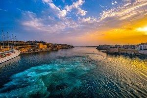 pôr do sol em malta - Pixabay