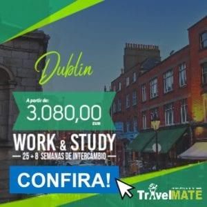 Banner Promoção de intercâmbio na Irlanda - 8 meses, Travel Mate