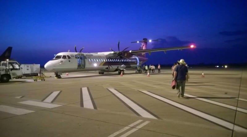 Avião no Camboja