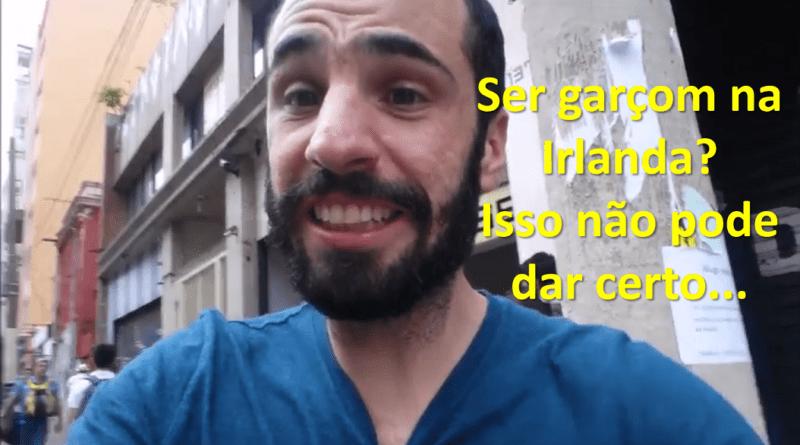 Homero Carmona - Capa vídeo Garçom na Irlanda