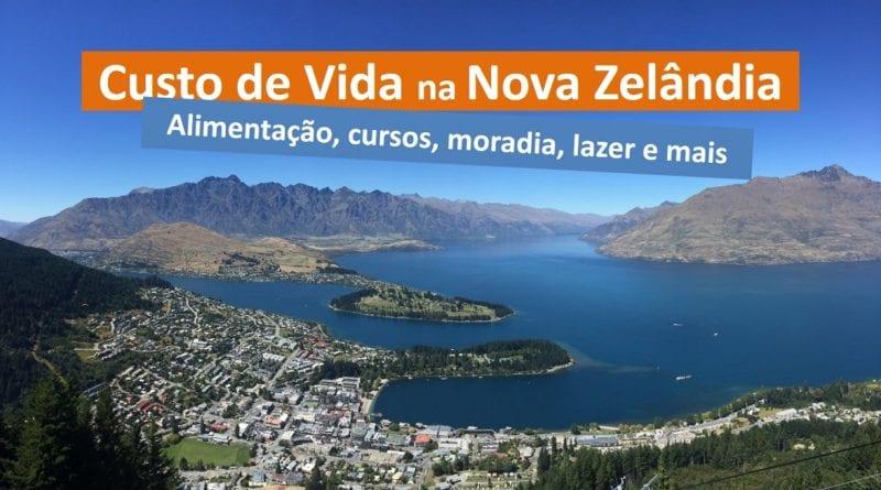 Custo de Vida na Nova Zelândia - Alimentação, cursos, moradia etc