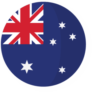 Bandeira da Austrália - By Roundicons