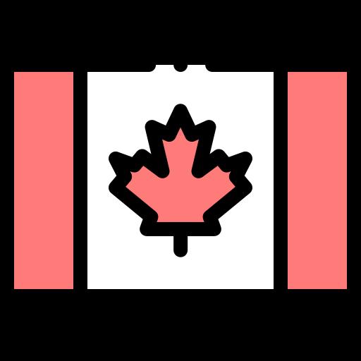 Bandeira do Canada - Icon Freepik