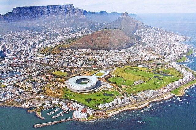 Vista aérea/ África do Sul - Pixabay